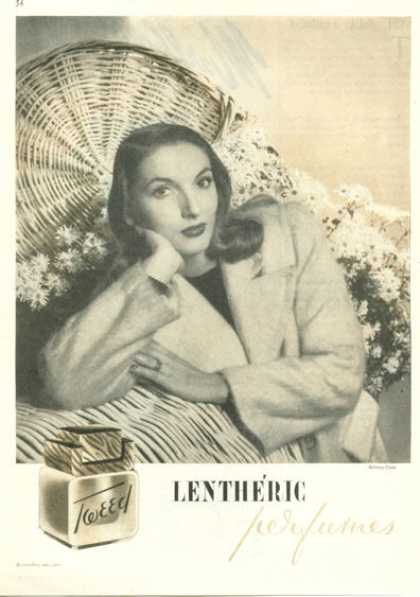 Lentheric Tweed Perfume (1945)