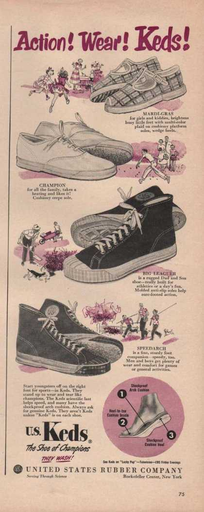Us Keds Shoe of Champions (1949)