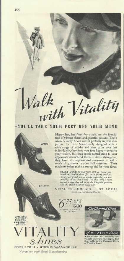 Vitality Womens Dress Shoes (1936)
