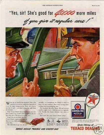 Texaco Havoline Oil (1944)