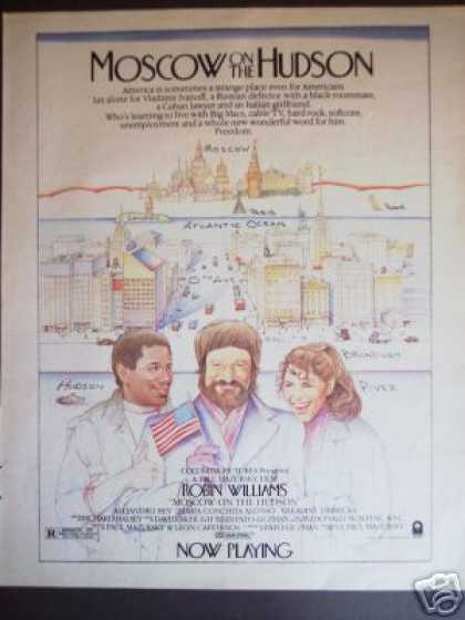 Robin Williams Moscow On the Hudson Movie Promo (1984)