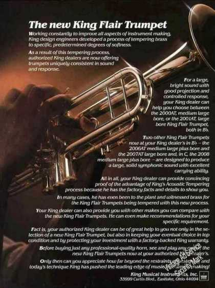 The New King Flair Trumpet (1982)