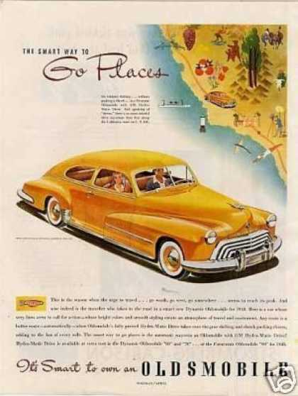 Oldsmobile Car (1948)