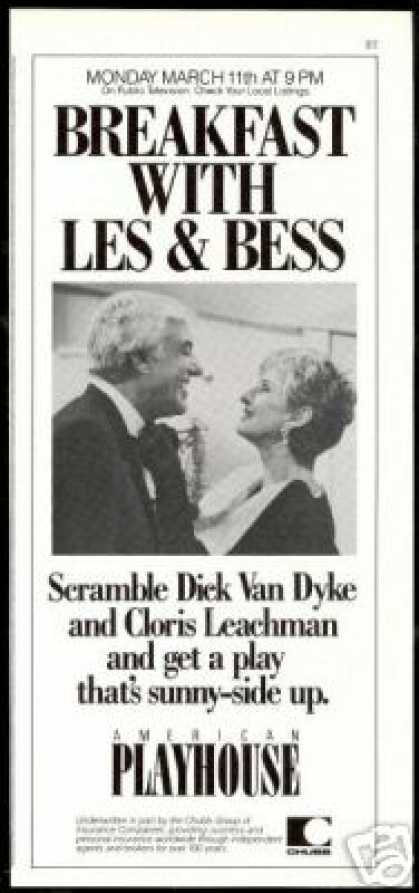 Dick Van Dyke Cloris Leachman Playhouse Promo (1985)