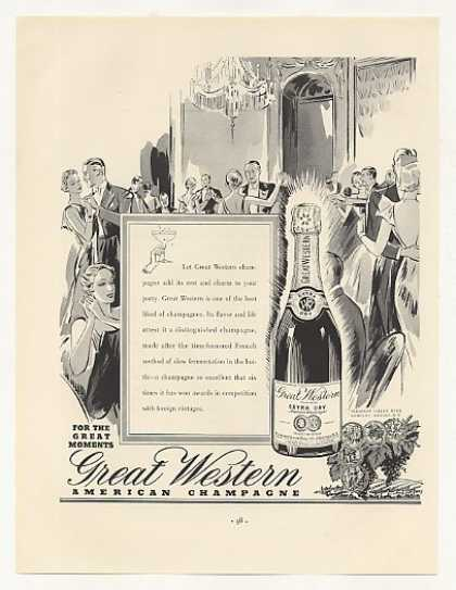 Great Western American Champagne Bottle Party (1937)