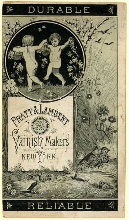 Pratt & Lambert's varnish – Pratt & Lambert Varnish Makers