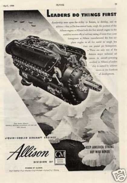 Allison Aircraft Engine (1944)