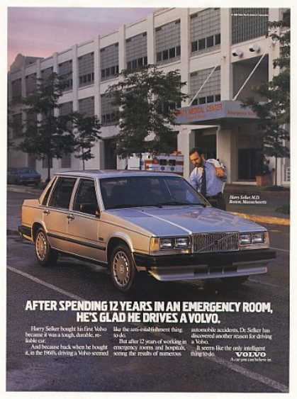 Dr Harry Selker MD Boston Emergency Room Volvo (1988)