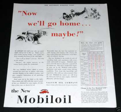 Old , Mobil Vaccum Oil Co (1929)