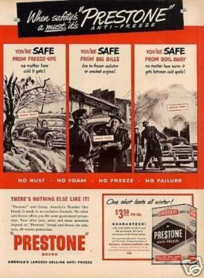 Prestone Anti-freeze (1949)