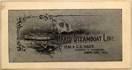 Hart's Steamboat Line's steamboat travel – Hart's Steamboat Line