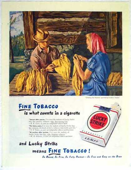Lucky Strikes Cigarettes – It's Toasted (1947)