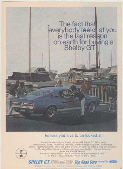 Ford's Mustang/ Cobra (1967)