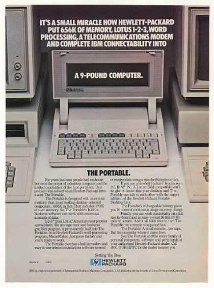Hewlett-Packard HP The Portable Computer (1984)