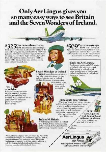 "Aer Lingus ""Seven Wonders of Ireland"" (1978)"
