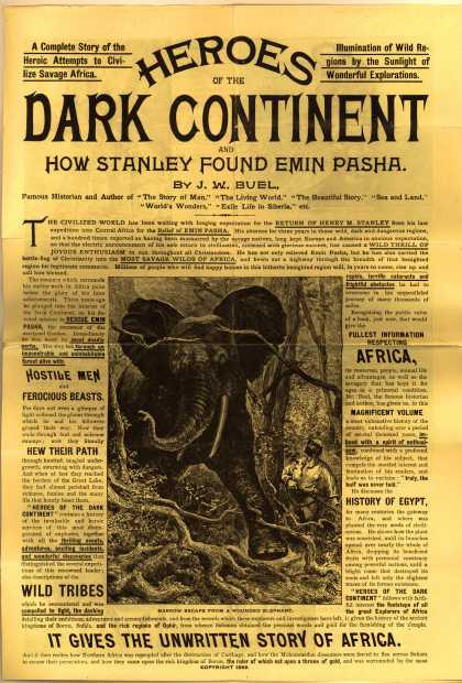 B. F. Johnson & Co.'s Heroes of the Dark Continent – Heroes of the Dark Continent and How Stanley Found Emin Pasha (1889)