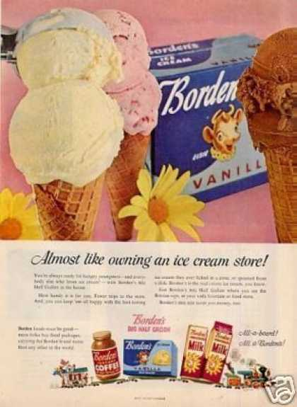 Borden's Ice Cream (1954)