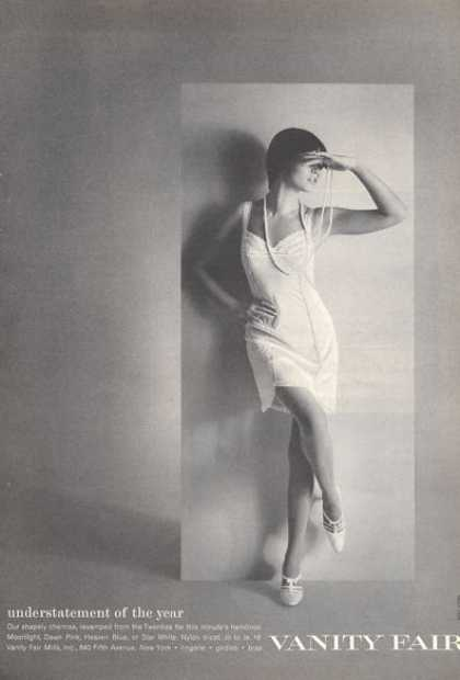 Vanity Fair Chemise Twenties Dapper Syle (1966)