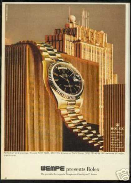 Rolex Chronometer Watch RCA Building Wempe (1982)