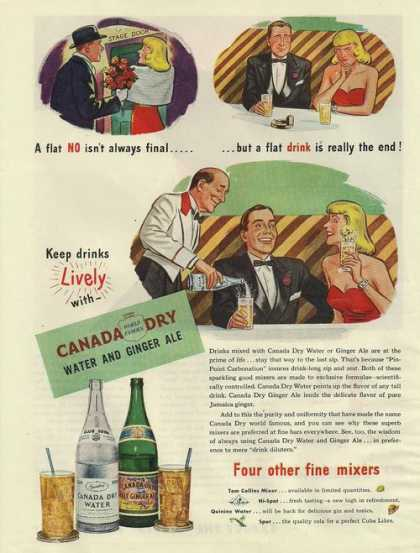 Canada Dry Water and Ginger Ale (1945)