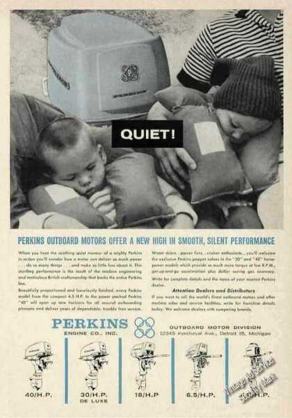 "Perkins Outboard Motors ""Quiet!"" (1963)"