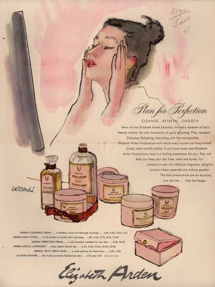 Elizabeth Arden – Plan for Perfection (1947)