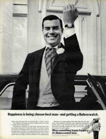Bulova Watch Happiness Is Being Chosen Best Man (1966)