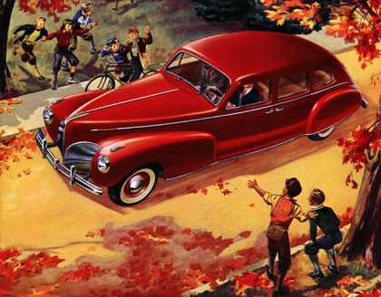 Approved by the World's Severest Critics Lincoln-Zephyr (1941)