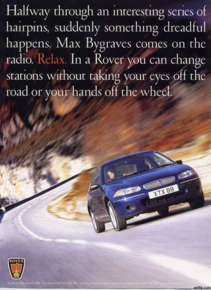 Vintage Car Advertisements Of The 1990s  Page 2