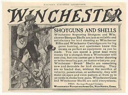 Winchester Shotgun Hunter Hunting (1905)