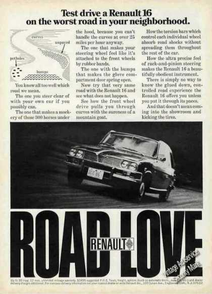 "Renault 16 ""Road Love"" Car (1971)"