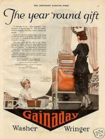 Gainaday Washer Color (1920)