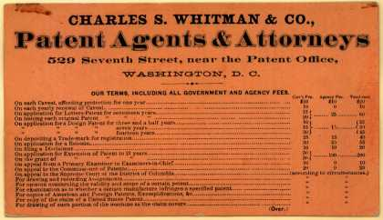 Charles S. Whitman & Co. – Patent Agents & Attorneys