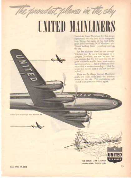 United Air Lines – United Mainliners (1948)