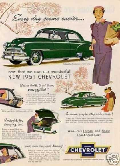 Chevrolet Styline Deluxe 4-door Sedan (1951)