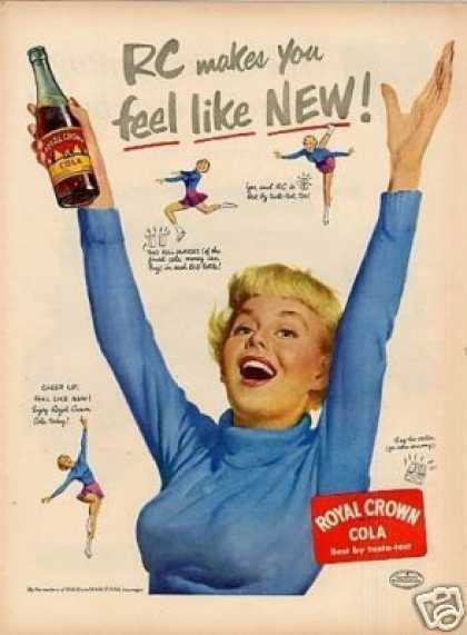 "Royal Crown Coal Ad ""Rc Makes You Feel Like... (1951)"