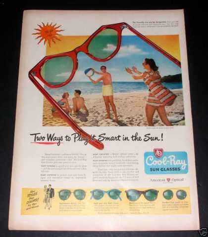 Cool-ray, American Optical, Exc (1949)