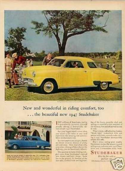 Studebaker Champion Regal Car (1947)