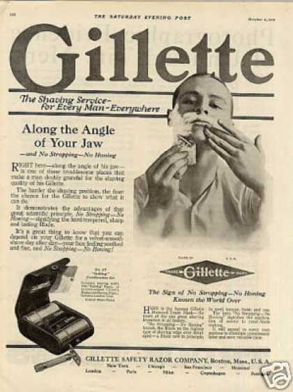 Gillette Razor (1919)