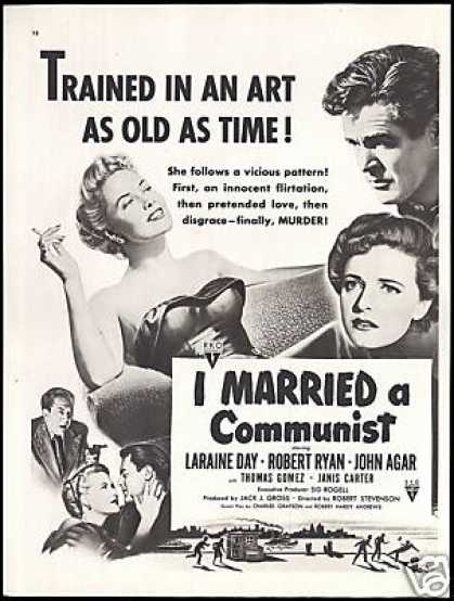 Laraine Day I Married a Communist Movie Promo (1949)