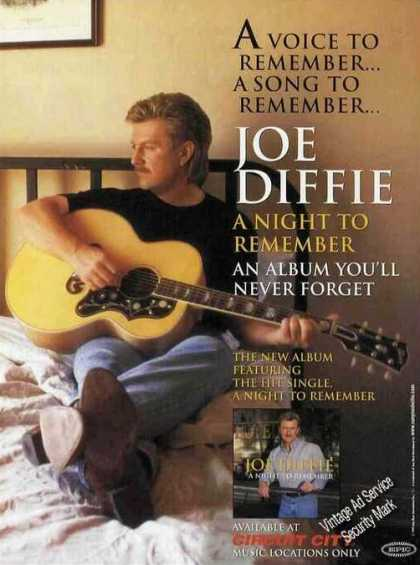 "Joe Diffie Photo ""A Night To Remember"" Album (1999)"