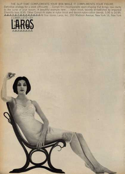 Laros Compli-fit Fashion Slip Bra (1960)