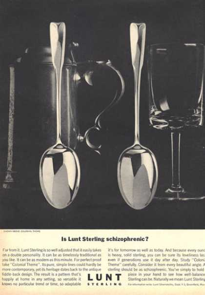 Lunt Sterling Silver Spooncolonial Photo (1964)