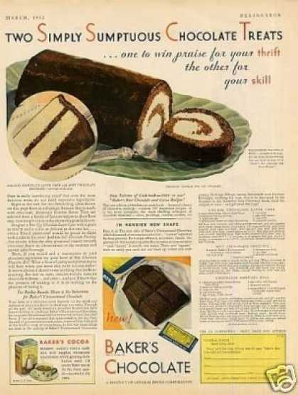 Baker's Chocolate (1932)