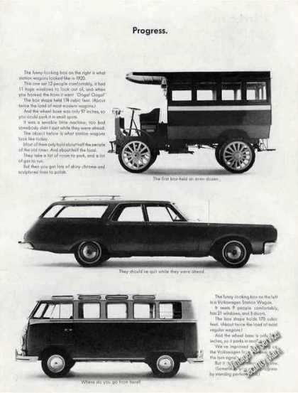 "Vw Volkswagen Station Wagon ""Progress"" (1965)"