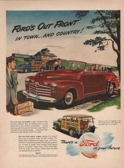 Ford Station Wagon & Convertibl (1946)