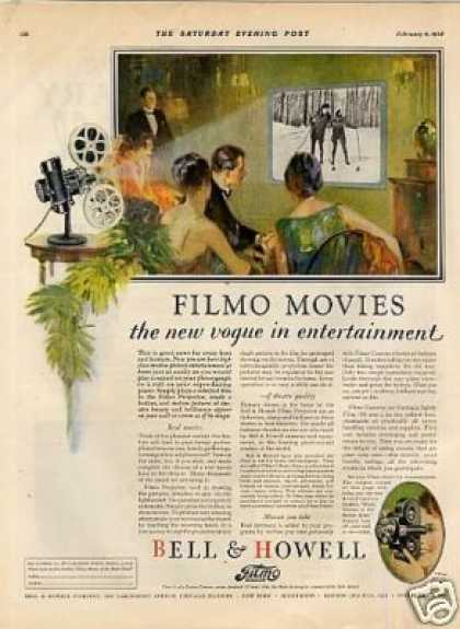 Bell &amp; Howell Filmo Movie Camera Color (1928)