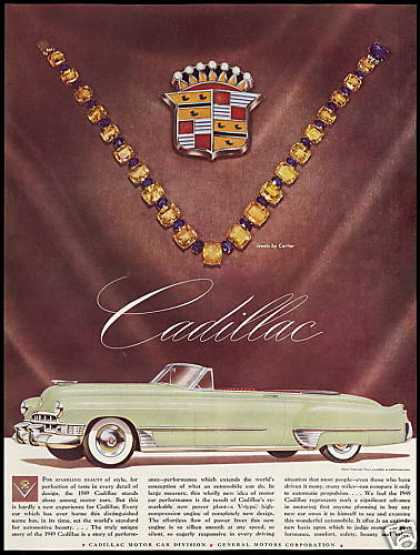 Cadillac Convertible Car Cartier Jewels (1949)