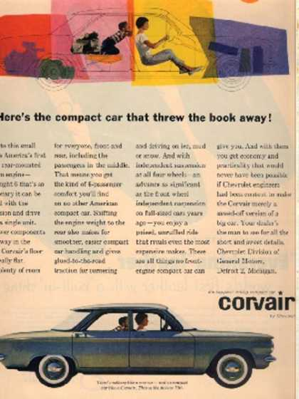 General Motor's Chevrolet Corvair (1960)