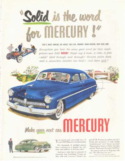 Mercury 4 Door (1949)